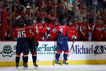 Congratulations to the Washington Capitals for being the only team worth talking about in the Southeast Division.
