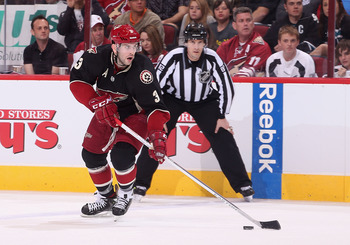 Keith Yandle put together a nice week for the Phoenix Coyotes. Will he still be in Phoenix next year?