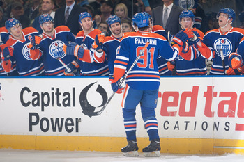 Magnus Paajarvi has finally seemed to take that next step in his career with the Oilers.
