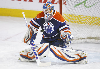 Devan Dubnyk emerged as a reliable starting goaltender for the Oilers in 2013.