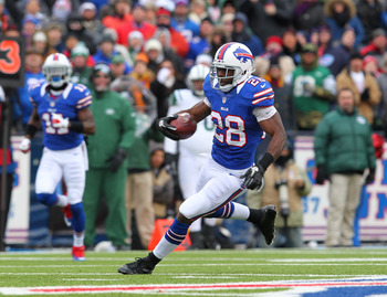 C.J. Spiller should see a career high in touches in 2013.