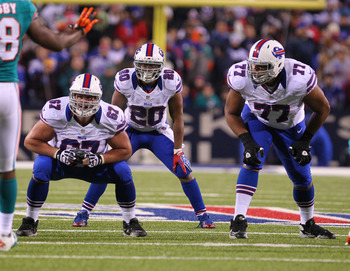 The Bills are hoping that Cordy Glenn takes a step up in 2013.