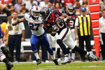 The Bills are hoping Gilmore will make more plays on the ball in 2013.