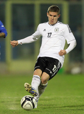 Sebastian Jung is an integral part of the Germany U-21 setup.