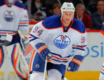 Ryan Smyth was a shoadow of his former self this season for the Oilers.