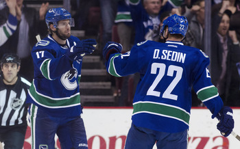 Ryan Kesler and Daniel Sedin