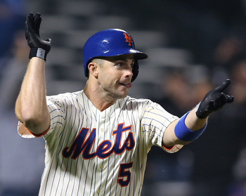 Wright has been the leader in every sense of the word, and as of Monday leads the team in batting average.