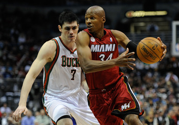 Ray Allen has been effective from outside, and even at times off the dribble.