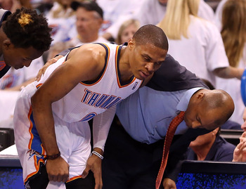 Russell Westbrook's season-ending knee injury is just one of those recently suffered by the NBA's stars.