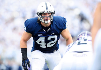 Michael Mauti accumulated 95 tackles, four for loss, 2.5 sacks and three interceptions at Penn State last season.
