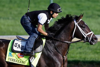 Verrazano prepares for the Derby