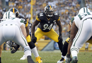 Lawrence Timmons could use some help at inside linebacker.