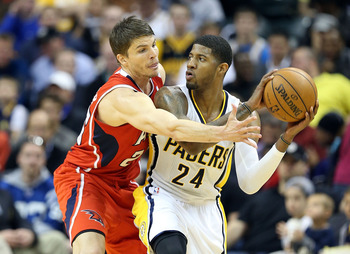 Paul George has been the Pacers' do-it-all player on both ends of the floor.