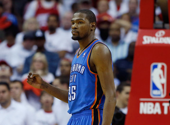Kevin Durant is looking to take the Thunder back to the finals.