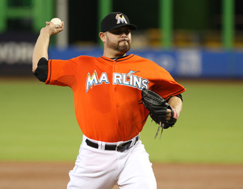 Ricky Nolasco won't be wearing a Marlins jersey in August.