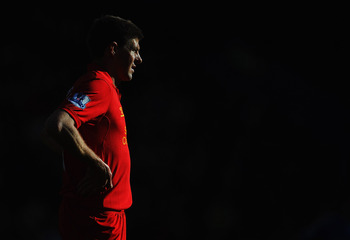 Steven Gerrard is a Liverpool legend. You're just jealous your team doesn't have a lifetimer.
