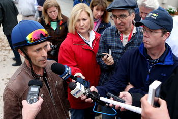 Gary Stevens will have to pilot long shot Oxbow smartly to give himself a chance.