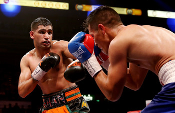 Amir Khan would present an opportunity for Mayweather to expand his reach overseas.