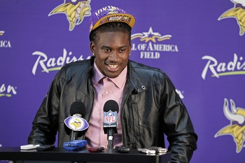 How soon can Cordarrelle Patterson replace Percy Harvin?