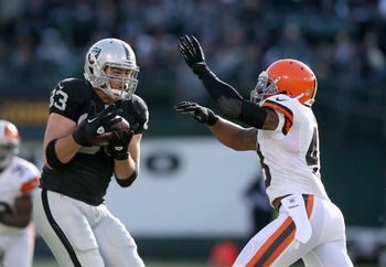 Brandon Myers is just one of the many missing Raiders from 2012.