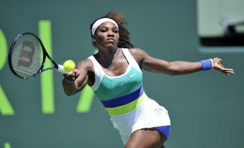 Serena Williams rolls into Madrid No. 1