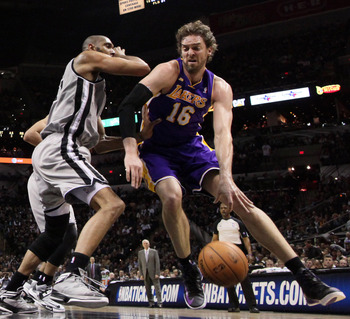 Los Angeles Lakers Pau Gasol