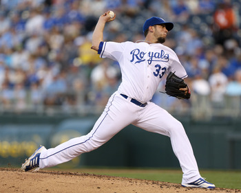 James Shields has had tough luck so far, but should lead the Royals to contend for the wild card.