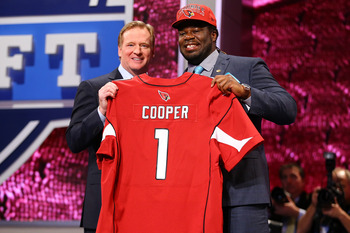 Cooper was the first-round pick for Arizona.