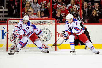 Ryan McDonagh and Derek Stepan.