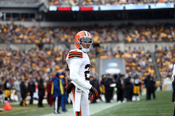 Starting CB Joe Haden