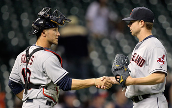 Will Corey Kluber (right) stabilize the back end of the Indians rotation?