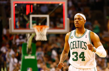 Pierce has done what he can to keep the C's alive.
