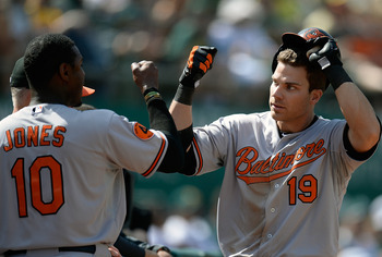 A torrid start for Chris Davis has the Orioles looking strong, so far.