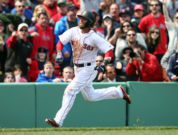 Even though his power hasn't been there, Dustin Pedroia has been nothing short of spectacular for Boston this season.