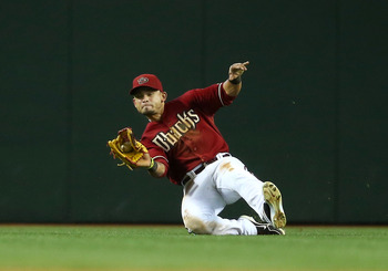 Arizona's Gerardo Parra has been incredible on defense and very good on offense this season.