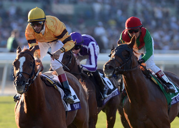Wise Dan winning the Breeders' Cup Mile