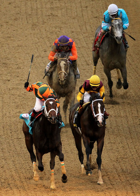 Rosie Napravnik wins the 2012 Kentucky Oaks