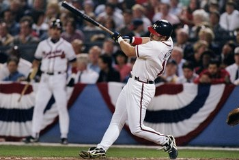 Ryan Klesko belted 10 of his 34 homers in 1996 in April.