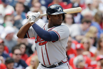 Justin Upton set a franchise record with 12 home runs in April.