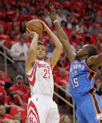 Chandler Parsons' clutch shooting has given the Rockets some much needed confidence.