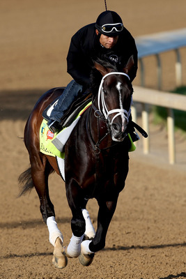 Verrazano trains at Churchill