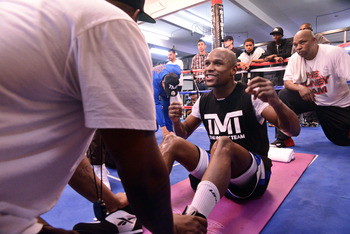 With The Money Team and Mayweather Promotions, Money has his future lined up.