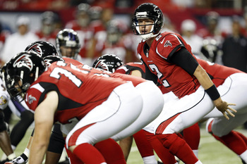 The Falcons offensive line will feature some heated battles in camp.