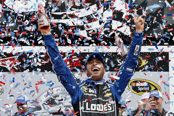 Jimmie Johnson captured his second Daytona 500 last February.