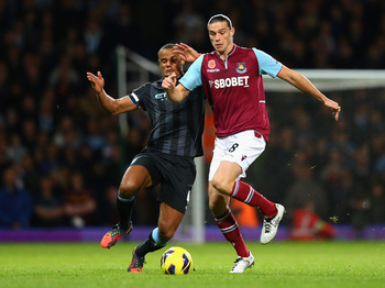 West Ham United's only offensive idea last week was to lob it over the top to Andy Carroll.