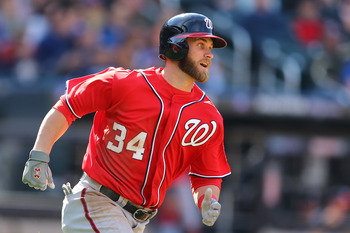 Justin Upton or Bryce Harper. How can you go wrong?