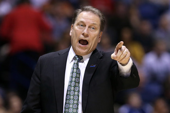 Tom Izzo sits atop a list of great Big Ten coaches.