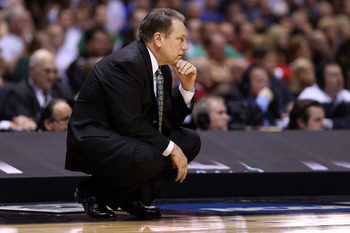 Tom Izzo's Spartans are No. 2 in a preseason poll.