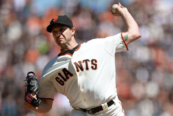 Barry Zito has fared much better at home than on the road.