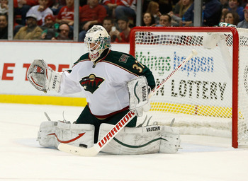 Harding gave the Wild a boost in Game 1.